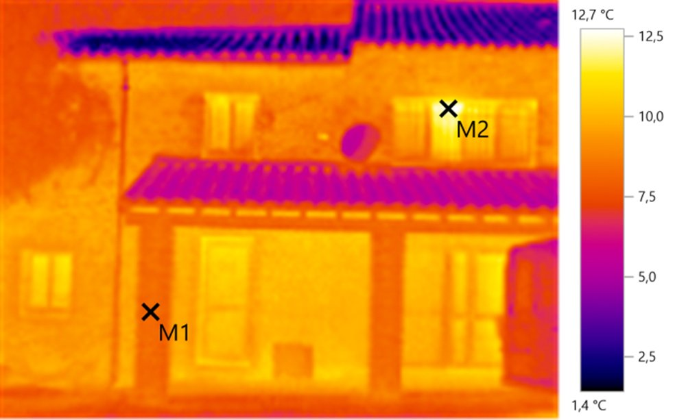 Photo de thermographie